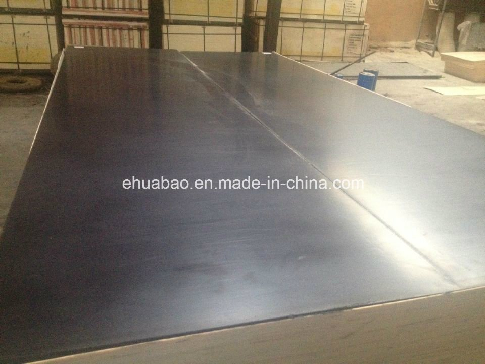 Black Shuttering Film Faced Plywood/Marine Plywood (HL020)