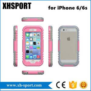 Transparent Mobile Phone Accessories Waterproof Case for iPhone 6/6s