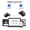 Wireless In Ear Bluetooth Earphone Touch Button Charging Box Earphones