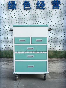 5 drawers treatment trolley
