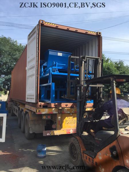 Máquina do bloco de Nigéria ZCJK 4-20A (1)