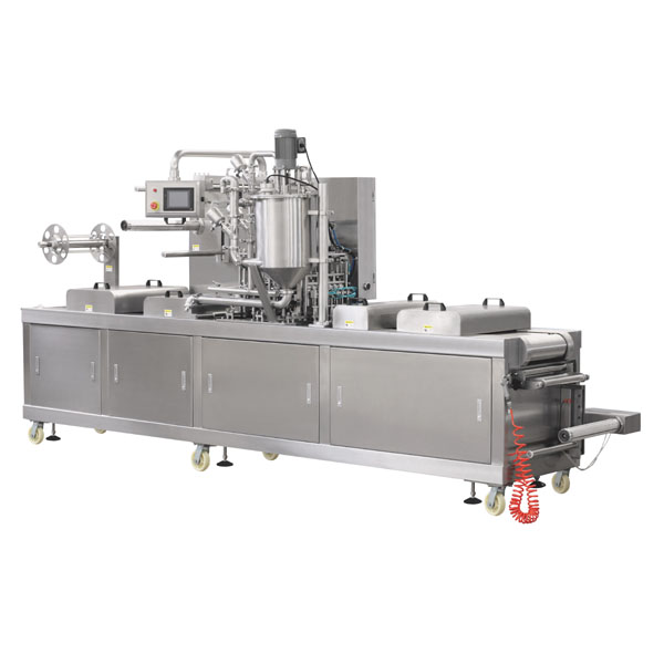 sauce salad cup form fill seal machine