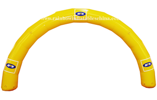 RB21017(10m)Inflatable Commercial Promotion Welcome Arch, Inflatable Customized High Quality Arch