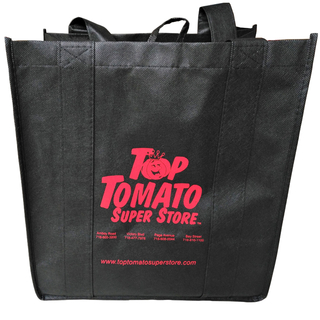length handle nonwoven grocery bag