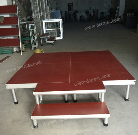 Aluminum Alloy Simple Stage