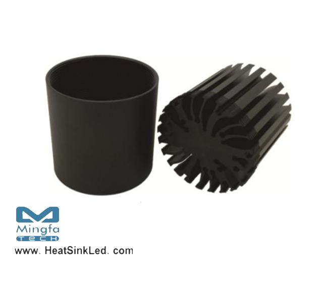 led heatsink with fan