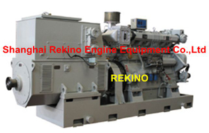 Zichai 6150 series medium speed marine diesel generator set (100-300KW)