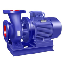 ISW horizontal electric fire fighting pipeline water booster pump