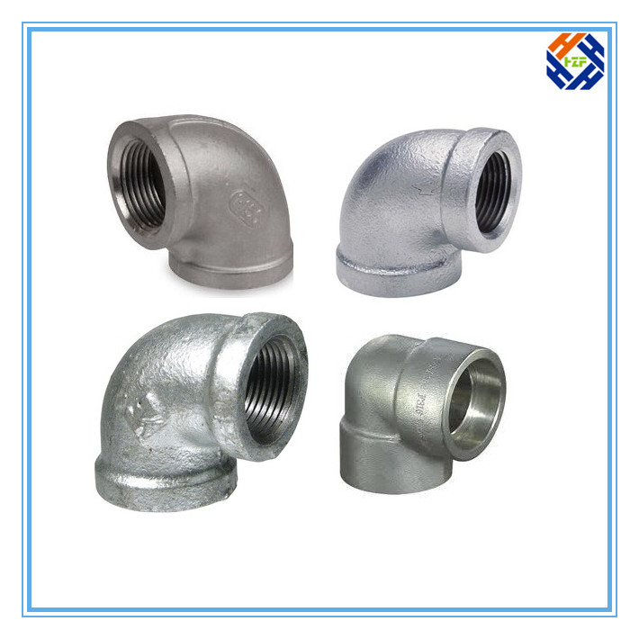 2 Ss304 Stainless Steel Elbow Pipe Fitting-5