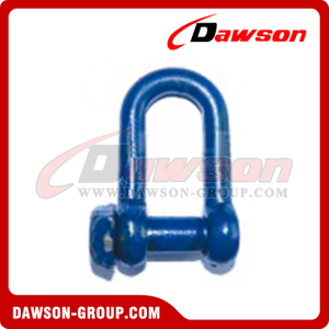 Raspando Dee Shackle Oversized Square Head com Blue Painted