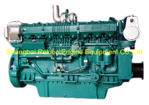 818HP 1350RPM Weichai medium speed marine diesel engine (8170ZC818-3)
