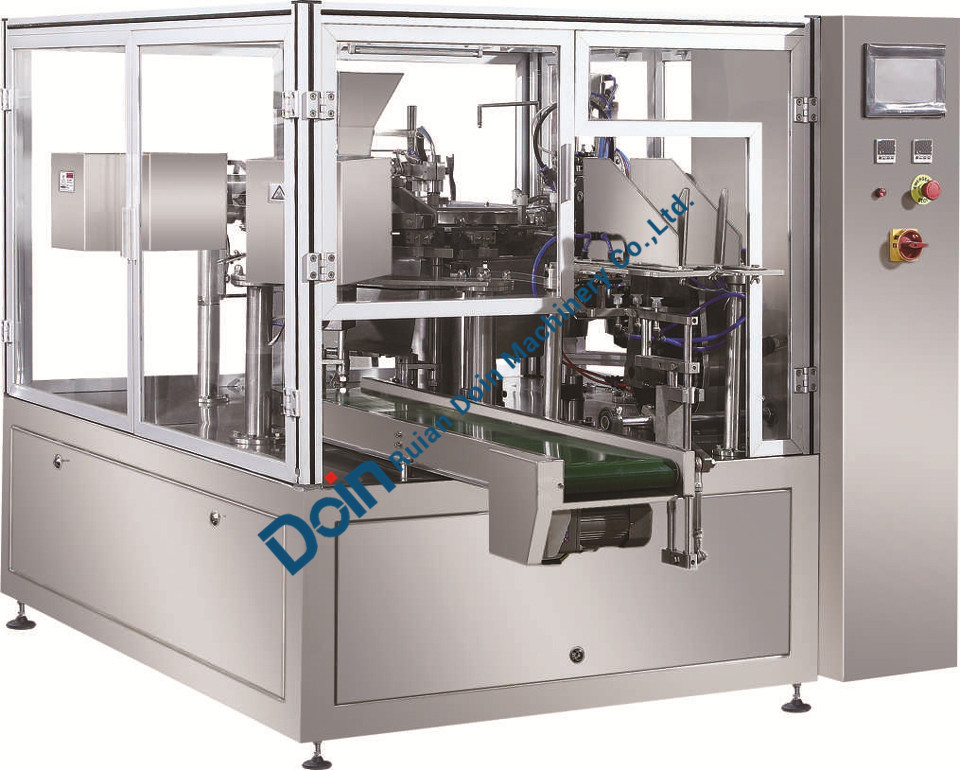 stand pouch filling machine