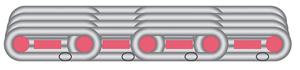 Spiral filter press cloth