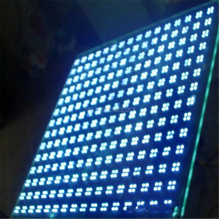 Transparent LED Smart Tempered Glass Screen