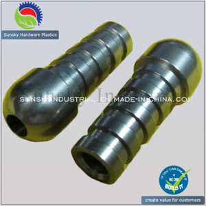 CNC Machining Parts for Stainless Steel Connector Joint (SS22012)