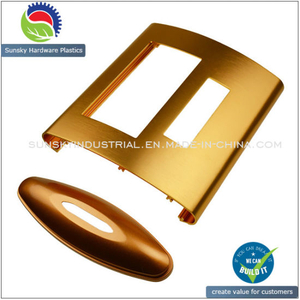 Aluminium Part for Hair Blower Control Panel with Anodized