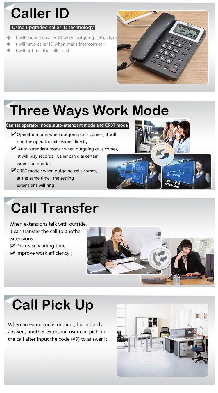 Telephone System Pabx Wireless Gsm Pbx System Ts 416 4