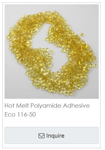 Hot melt adhesives Eco 116-50 20180918