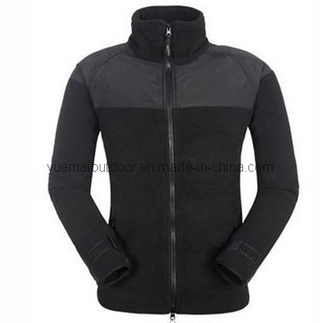 Army Fleece Jacket in Black