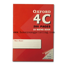 A4 10*10 square maths book 200 pages