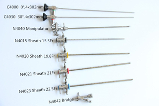 Urology Endoscope Cystoscope Urethroscope Set