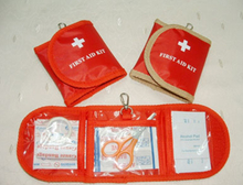 Wallet first aid kit