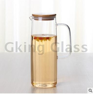 Glass teapot-T18036