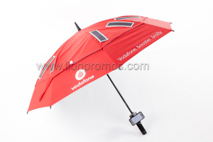 Vodafone Logo Imprint Two Layers Golf Umbrella