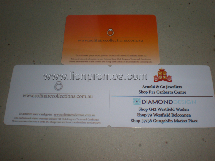 jewellery shop vip gift card