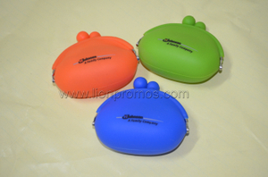 SC Johnson Promotional Gift Silicone Coin Purse