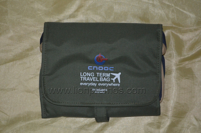 China National Offshore Oil Corporation Logo Gift Travel Organizer Bag