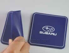 Promotional Logo Embossed Car Anti Slip PVC Silicone Mat