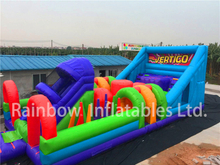 Large Indoor Inflatable Obstacle Course Challenge Sport Game for Adults