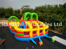 Customized Outdoor Durable Inflatable Obstacle Course for Kids