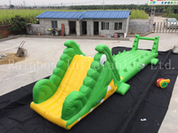 RB33010(10x2x3m) Inflatable crocodile water game for adult