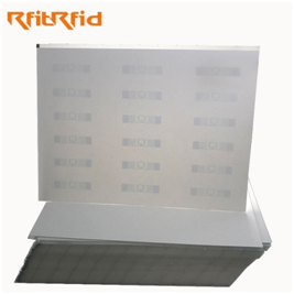 RFID UHF EMBEDDED PAPER SHEET FOR RFID TICKET AND GARMENT HANG TAG