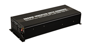 2000W Modified Sine Wave Power Inverter WITH CHARGER (2000W/20A)
