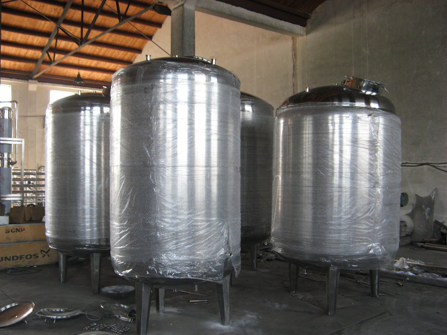 Pharmaceutical/Injection Water Used Distilled Water Tank