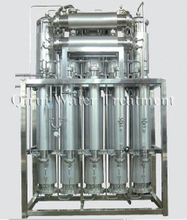 Double Tube Panel Multiple Effect Distilled Water Machine