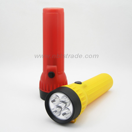 5 LED Plastic Flashlight