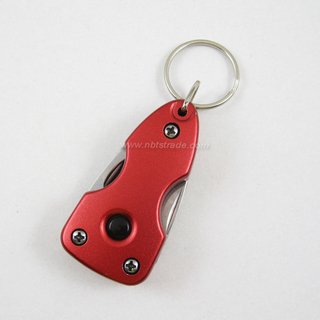 LED Keychain with Hand Tools