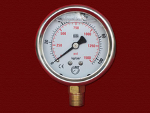 PG-068 Liquid Pressure Gauge with bottom connection