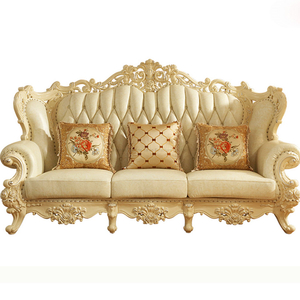 523 Wooden Sofa Set for Home Furniture