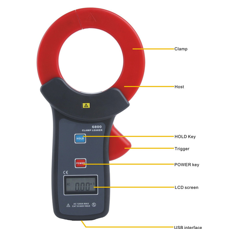 Clamp Leakage Meter ST-6800