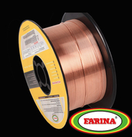 Copper coated welding wire ER49-1