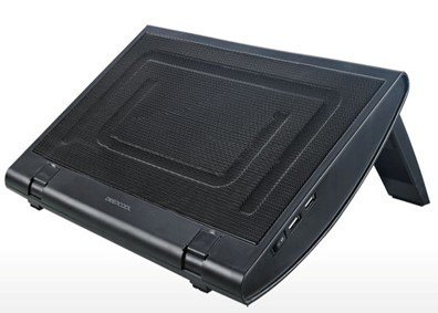 Aluminium Mesh Net Single Fan Cooling Pad for 13-15CH Notebook