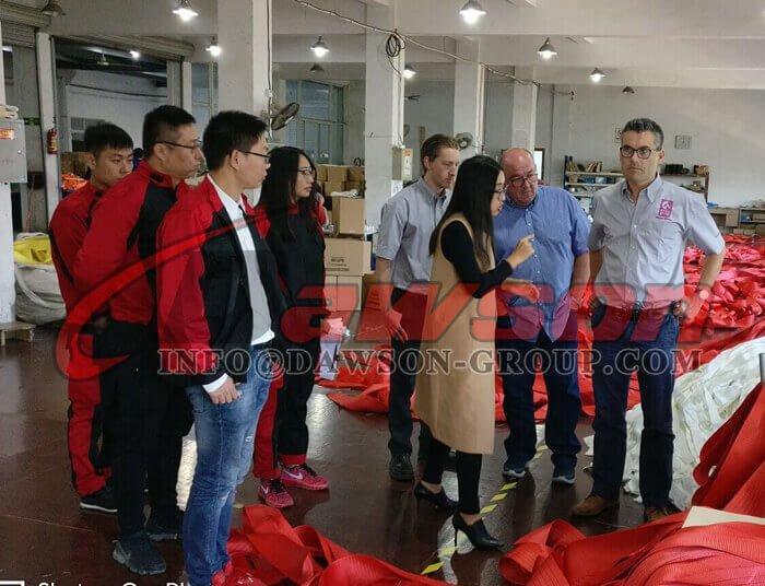 CHINA DAWSON GROUP LTD CORREA ESLINGAS LEVANTAMIENTO DE ESLINGAS REDONDAS PROVEEDOR