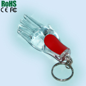 Digital voice recording wearable led keyring