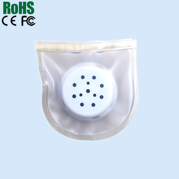 Waterproof sound chip for cloth or shoes
