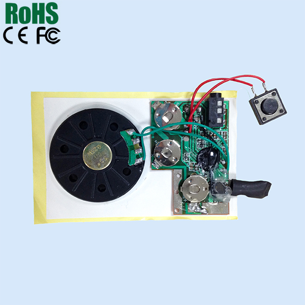 audio chip for greeting card and toys